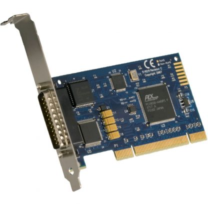 PCI 1-Port RS-232, RS-422, RS-485, RS-530, RS-530A, V.35 Synchronous Serial Interface (uses Z85230)