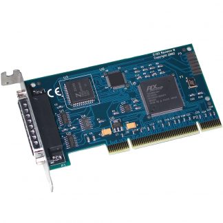 Low Profile PCI 1-Port RS-232 Synchronous Serial Interface (uses Z85230)