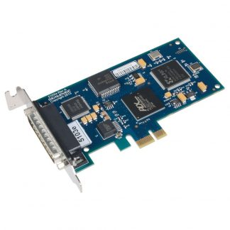 Low Profile PCI Express 1-Port RS-232 Synchronous Serial Interface (uses Z85230)
