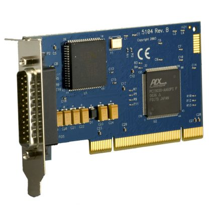 Low Profile PCI 1-Port RS-232, RS-422, RS-485, RS-530, RS-530A, V.35 Synchronous Serial Interface (uses Z16C32)