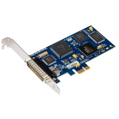 5104e PCI Express 1-Port RS-232, RS-422, RS-485, RS-530, RS-530A, V.35 Synchronous Serial Interface (uses Z16C32) w/ Standard Profile Bracket