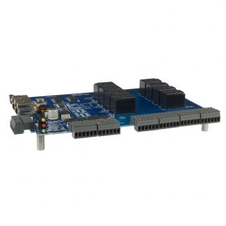 RS-485 Modbus RTU Interface to 8 Isolated Inputs / 8 High-Current Form C Relay Outputs OEM board