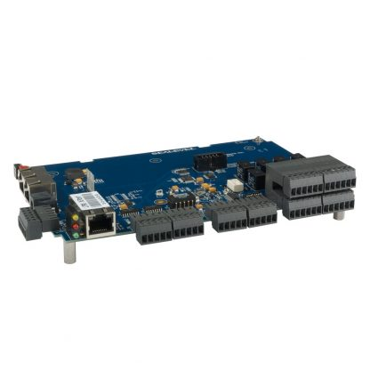 Ethernet Modbus TCP to 8 16-bit A/D, 8 Isolated Inputs, 8 Form C Relay Outputs Multifunction Module