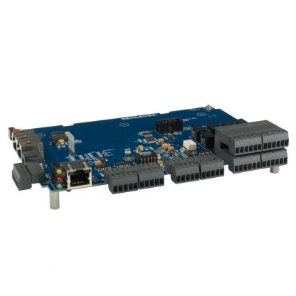 RS-232 Modbus RTU to 8 16-bit A/D, 8 Isolated Inputs, 8 Form C Relay Outputs Multifunction Module