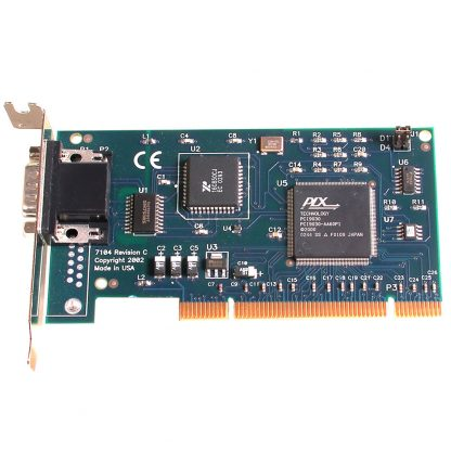 Low Profile PCI 1-Port RS-232 Serial Interface