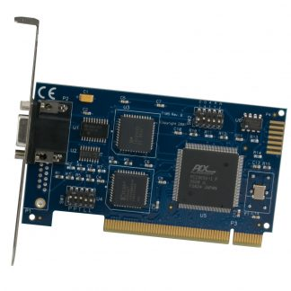PCI 1-Port RS-422, RS-485 Serial Interface with Opto-22 Optomux DB-9F Compatible Connector