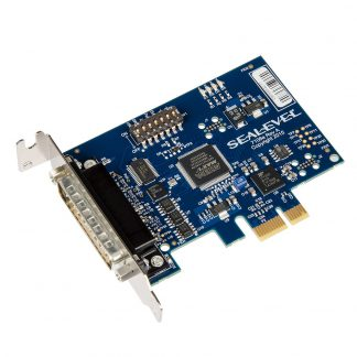 Low Profile PCI Express 1-Port RS-232, RS-422, RS-485, RS-530 Serial Interface