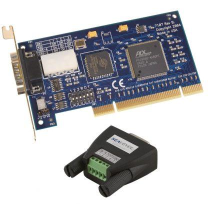 7107 w/ Optional RS-485 Terminal Block Adapter (Item# TB34)