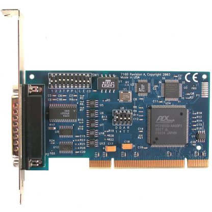 7108 PCI 1-Port RS-232, RS-422, RS-485 Isolated Serial Interface w/ Standard Profile Bracket
