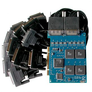 PCI 16-Port RS-232 Serial Interface