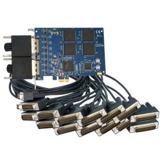 PCI Express 16-Port RS-232 Serial Interface
