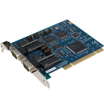 PCI 2-Port RS-232, RS-422, RS-485 Serial Interface