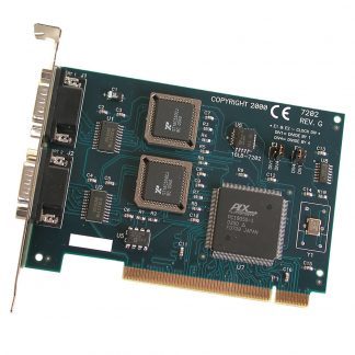 PCI 2-Port RS-232 Serial Interface