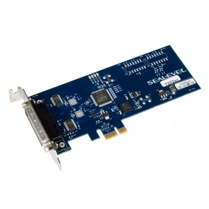 7202ec Low Profile PCI Express 2-Port RS-232 Serial Interface