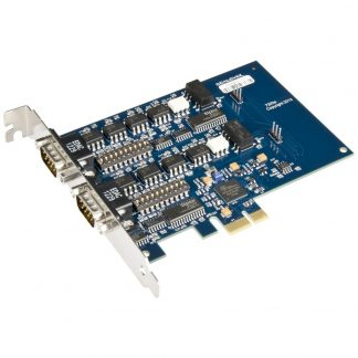 PCI Express 2-Port RS-232, RS-422, RS-485 Isolated Serial Interface
