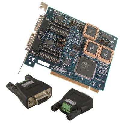 7204 w/ Optional RS-485 Terminal Block Adapters (2x Item# TB34)