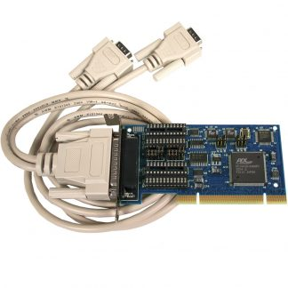 Low Profile PCI 2-Port RS-232, RS-422, RS-485 Serial Interface