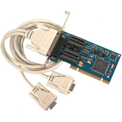 7205 PCI 2-Port RS-232, RS-422, RS-485 Serial Interface w/ Standard Profile Bracket
