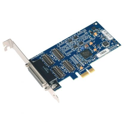 7402e PCI Express 4-Port RS-422, RS-485 Serial Interface w/ Standard Profile Bracket
