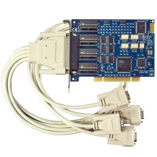 PCI 4-Port RS-232, RS-422, RS-485 Serial Interface