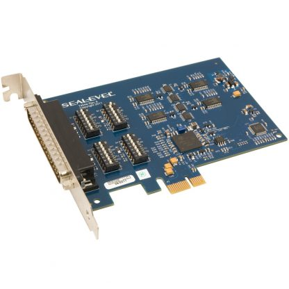 7404e PCI Express 4-Port RS-232, RS-422, RS-485 Serial Interface