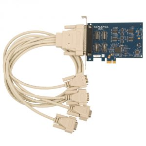 PCI Express 4-Port RS-232, RS-422, RS-485 Serial Interface