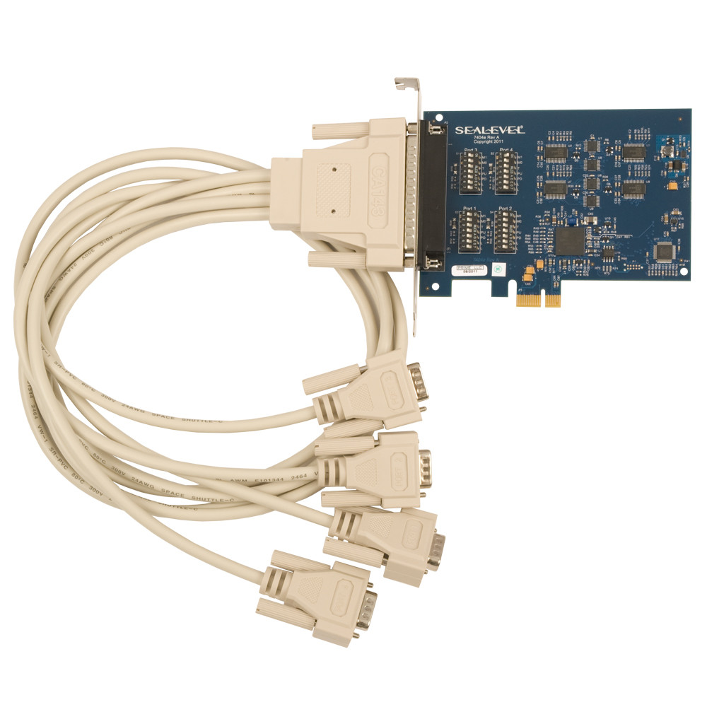 Comm 4pcie Sealevel Rs 485 Wiring Pci Express 4 Port 232 422