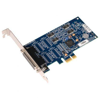 7406e PCI Express 4-Port RS-232 Serial Interface w/ Standard Profile Bracket