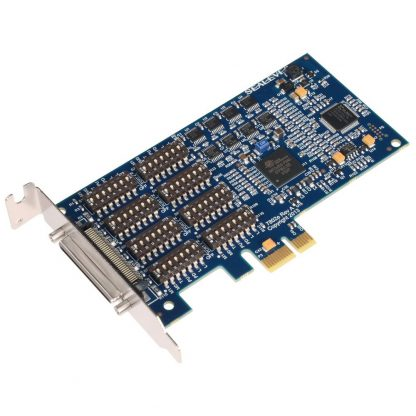 7802e Low Profile PCI Express 8-Port RS-422, RS-485 Serial Interface