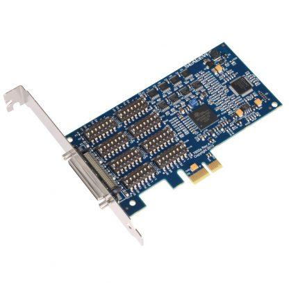 7802e PCI Express 8-Port RS-422, RS-485 Serial Interface w/ Standard Profile Bracket