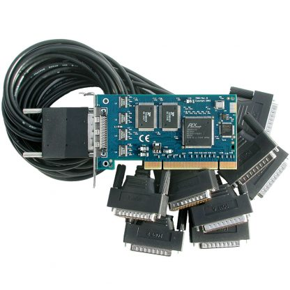 Low Profile PCI 8-Port RS-232 Serial Interface