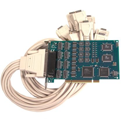 PCI 8-Port RS-232, RS-422, RS-485 Serial Interface