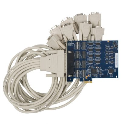 PCI Express 8-Port RS-232, RS-422, RS-485 Serial Interface
