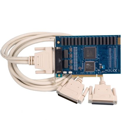 PCI 16 Reed Relay Output / 16 Isolated Input Digital Interface (10-30V)
