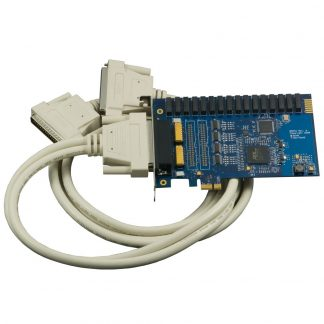PCI Express 16 Reed Relay Output / 16 Isolated Input Digital Interface (10-30V)