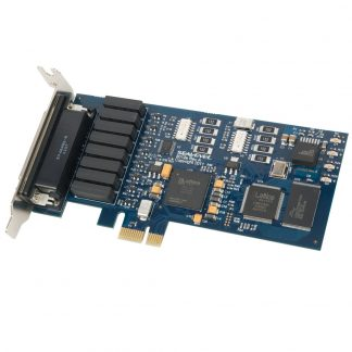 Low Profile PCI Express 8 Reed Relay Output / 8 Isolated Input Digital Interface (3-30V)