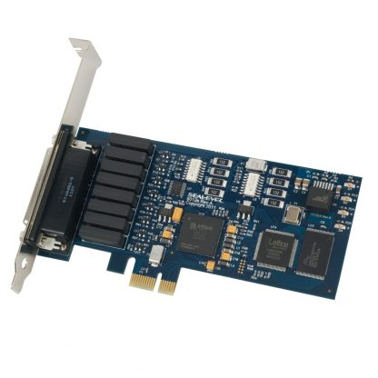 PCI Express 8 Reed Relay Output / 8 Isolated Input Digital Interface (3-30V)