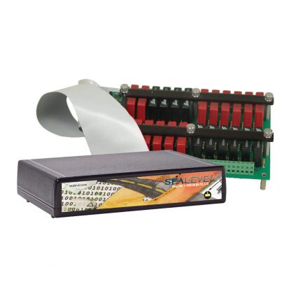 Application Example: 8203FX w/ 24-Position Relay Rack (Item# PB24HS)