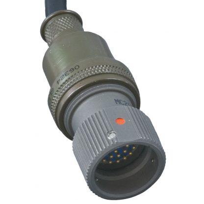 9065QD-PRC117F Connector Detail for AN/PRC-117F