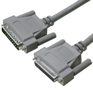 DB25 Female to DB25 Male Extension Cable, 72 inch Length