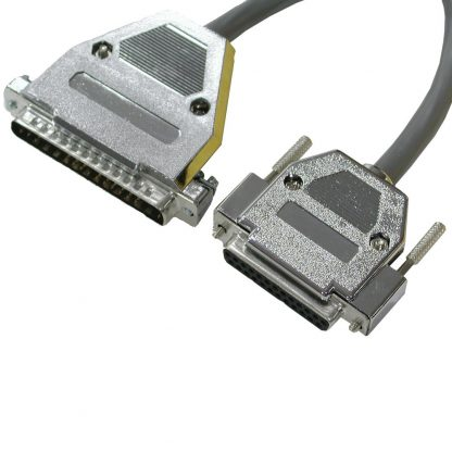 DB25 Female (RS-530) to DB37 Male (RS-449 DTE) Cable, 10 inch Length