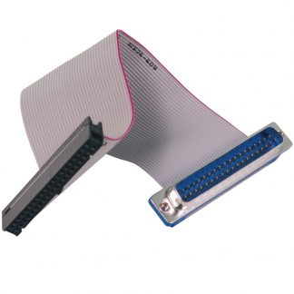 40-Pin IDC Ribbon Cable to DB37 Male, 6 inch Length