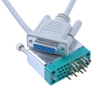 DB15 Female (V.35) to ITU-T ISO-2593 Style Connector (V.35) Cable, 72 inch Length