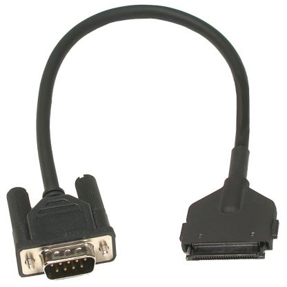 PCMCIA Hirose to (1) DB9 Male Cable, 12 Inch Length - for 3603, 3604