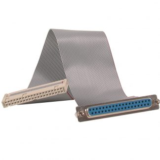 40-Pin IDC Ribbon Cable to DB37 Female, 6 inch Length