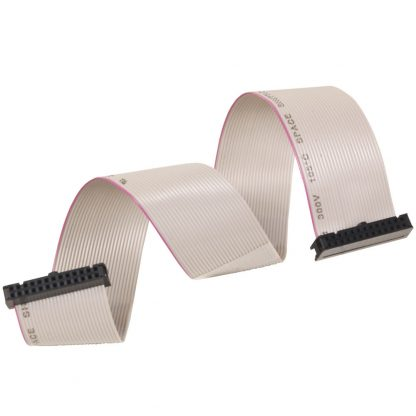 26-Pin IDC to 26-Pin IDC Ribbon Cable, 15 inch Length