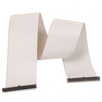 40-Pin IDC to 40-Pin IDC Ribbon Cable, 18 inch Length - Standard IDE Cable