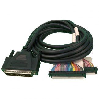 DB78 Male to (2) IDC 50-Pin Ribbon Connectors - SeaI/O 462 Modules