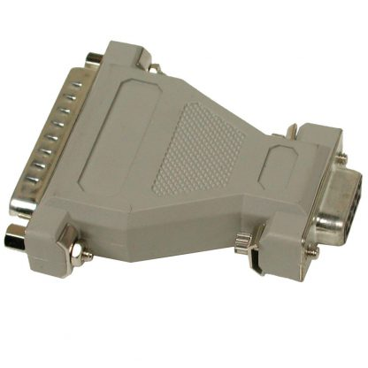DB9 Female to DB25 Male - RS-232 Converter