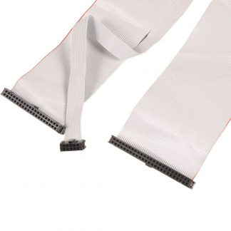 50-Pin IDC to 40-Pin and 10-Pin IDC Ribbon Cable, 22 inch Length